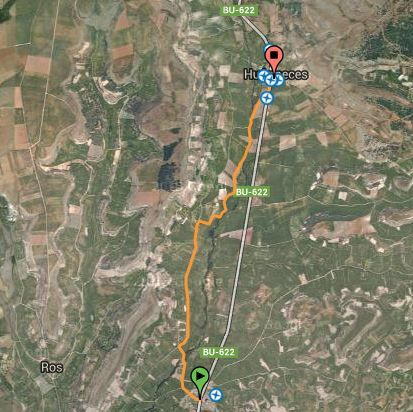 Ruta Santibañez- Zarzaguda